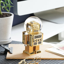 Lade das Bild in den Galerie-Viewer, Summerglobe The Robot | Gold