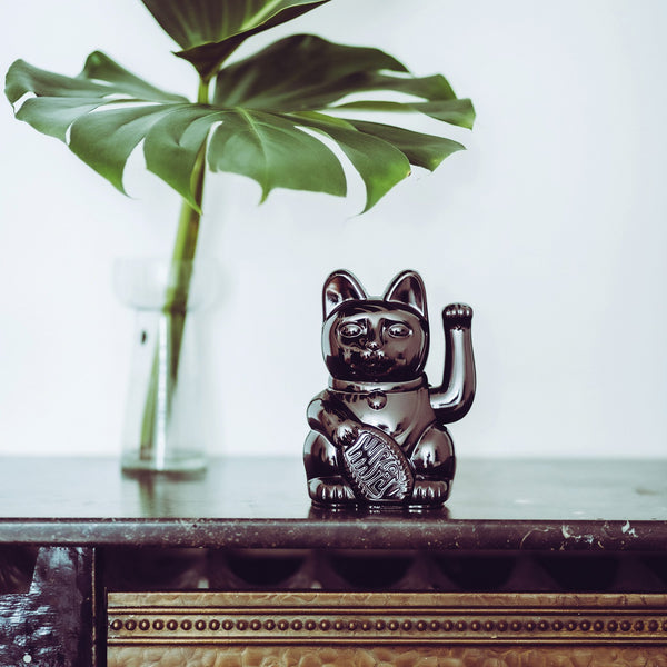 Lucky Cat | Glossy Black