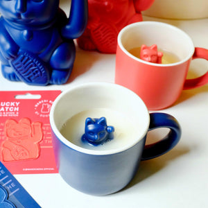 MANEKI NEKO Lucky Mug | Dark Blue