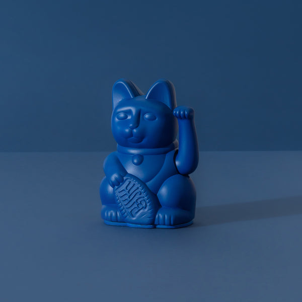 Lucky Cat Mini | Dark Blue