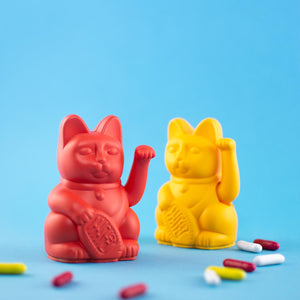 Lucky Cat Mini | Red