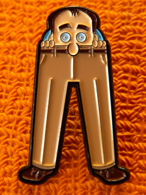 """Stampler Was Here"" Pin"