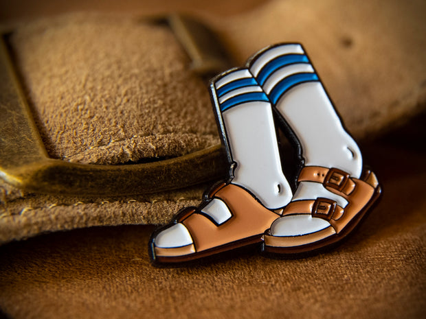 """Birkensocks"" Pin"