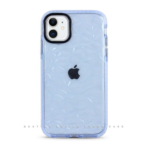 Blue Bustyle See-Through iPhone Case