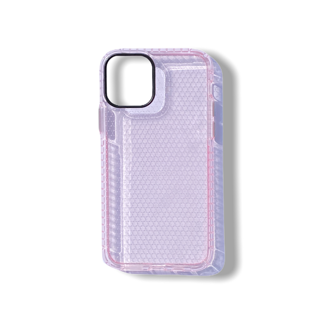 Pink Honeycomb iPhone Case