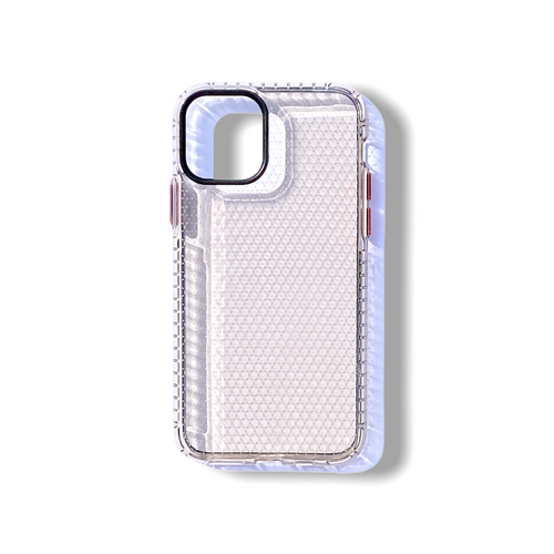 Clear Honeycomb iPhone Case