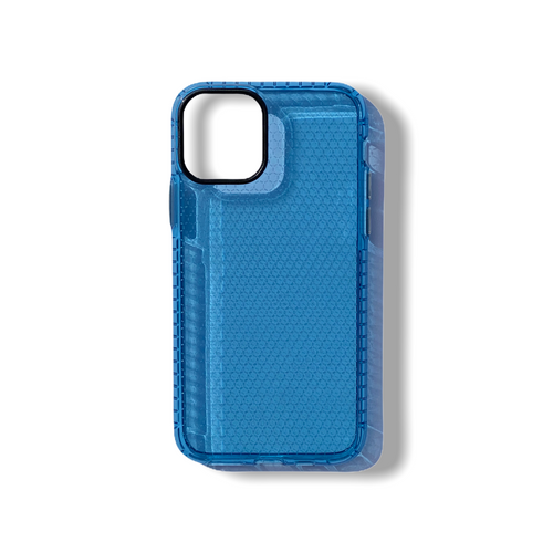 Blue Honeycomb iPhone Case