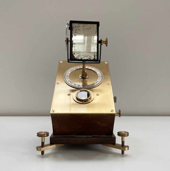 Victorian Clockwork Heliostat by Archer & Sons of Liverpool