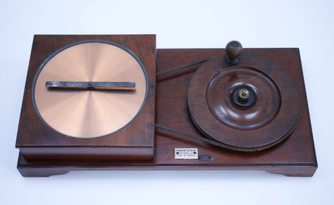 Late Victorian Arago's Disc Physics Demonstration Apparatus by Harvey & Peak London