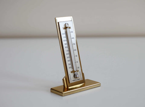 Art Deco Period Desk Thermometer by Negretti & Zambra London