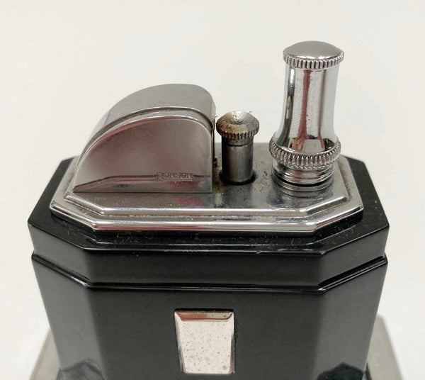 Art Deco Period Octette Touch Tip Table Lighter by Ronson