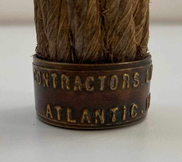 1866 Commemorative Trans Atlantic Cable Sample - SS Great Eastern