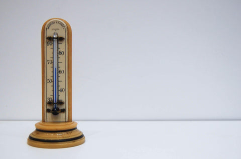 Art Deco Bakelite Desk Thermometer by Negretti & Zambra