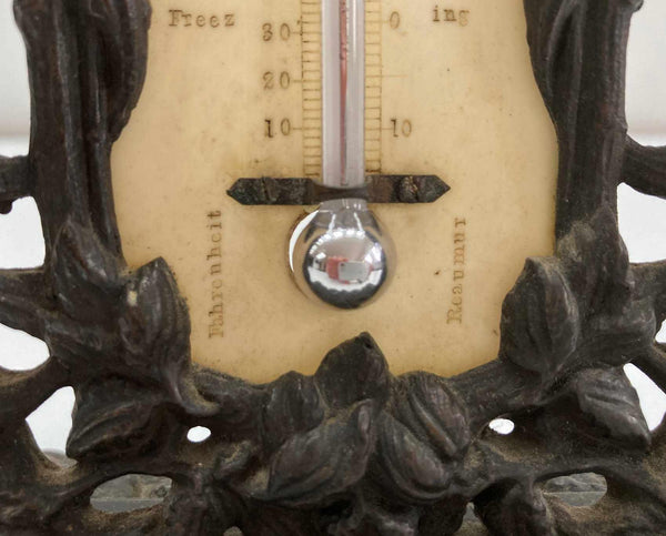 Early Victorian Desk Thermometer by Thomas Buss of Hatton Garden, London