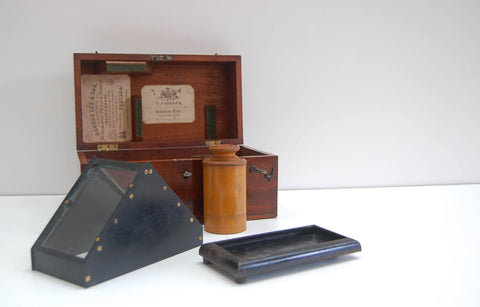 Early Victorian Cased Maritime Artificial Horizon by George Dollond of London