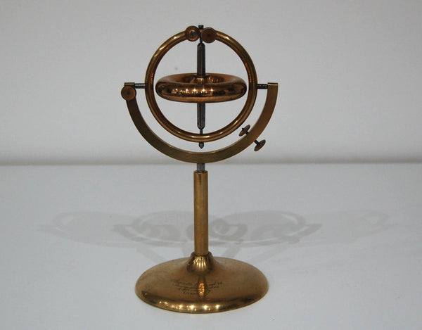 Early Victorian Demonstration Gyroscope on Stand by Negretti & Zambra London.