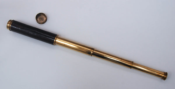 East India Company Three Draw Telescope by Thomas Jones of Charing Cross, London