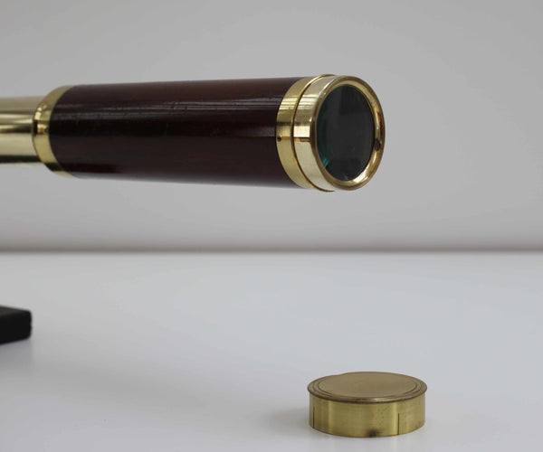 Napoleonic Five Draw Telescope by George Willson Engraved to George Stark