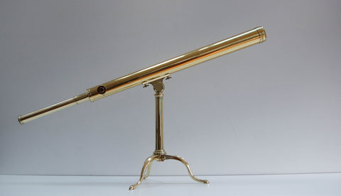 Late Eighteenth Century Desktop Library Telescope by George Adams of Fleet Street