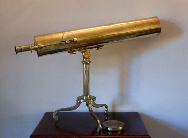 George III Gregorian Library Reflector Telescope by Wellington of Soho, London