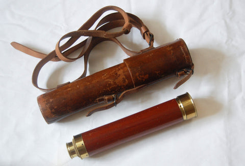 Three Draw Telescope by Matthew Berge (Late Ramsden) owned by Horatio Stewart 95th Rifles