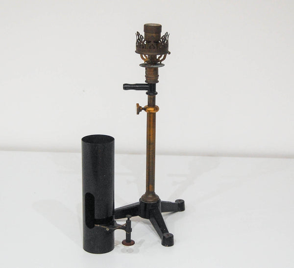 Late Victorian Gas Mantle Galvanometer Lamp by Auerlicht Germany