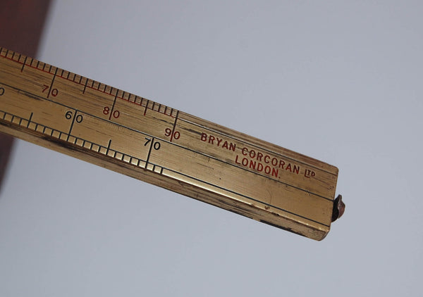Rare Late Victorian Chondrometer or Grain Scale by Bryan Corcoran Ltd London