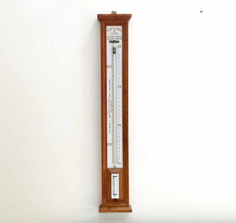 Late Victorian Long Range Glycerine Barometer by Negretti & Zambra of London