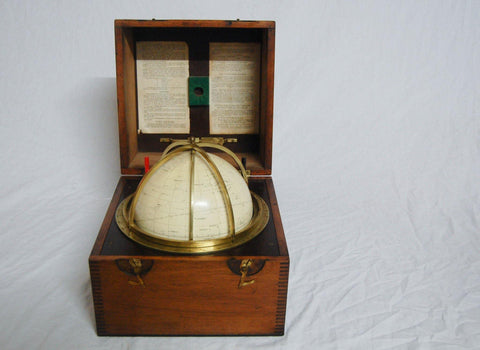 "A Cased Seven Inch ""Star Globe Epoch 1975"" by Kelvin & Hughes Limited"