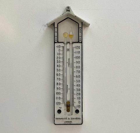Early Twentieth Century Max Min Thermometer by Negretti & Zambra