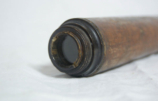 Mid-Eighteenth Century Three Draw Pasteboard Telescope