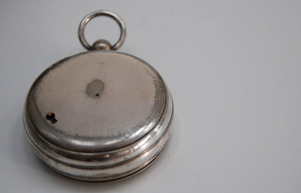 Very Early Cased Pocket Barometer by Smith Beck & Beck of London