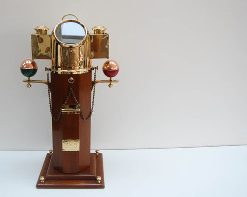Twentieth Century Ship's Binnacle Salesman's Sample by Kelvin & Hughes Limited
