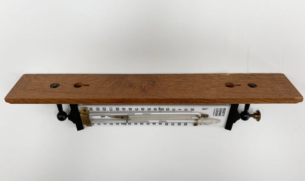 Edwardian Self Registering Max Min Window Thermometer by Negretti & Zambra