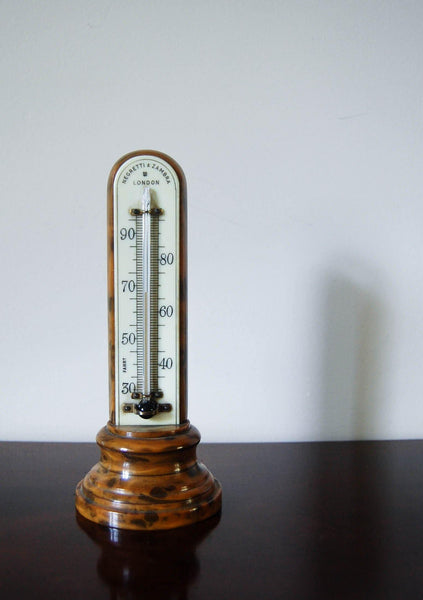 Early Twentieth Century Bakelite Desk Thermometer by Negretti & Zambra