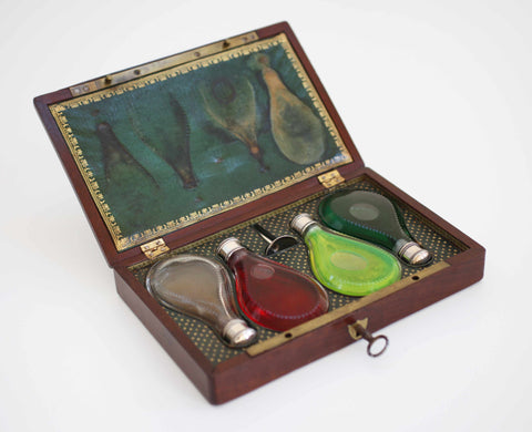 French Napoleon III Ladies Perfume Case or Cave a Parfum
