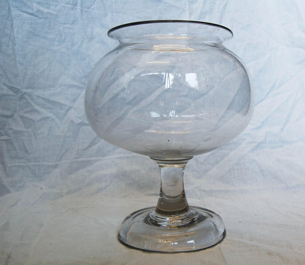 Early Nineteenth Century Glass Leech Jar