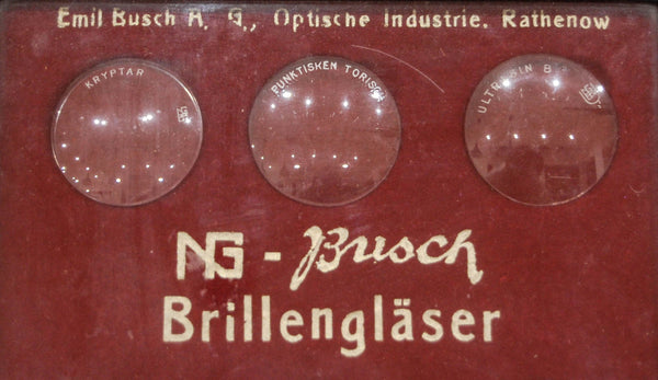 Opticians Spectacle Lens Display by Busch AG, Rathenow Germany