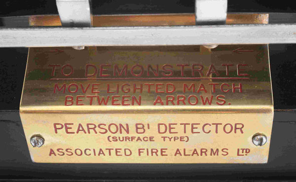Salesman's Sample of a Pearsons B1 Fire Detector by Associated Fire Alams Limited