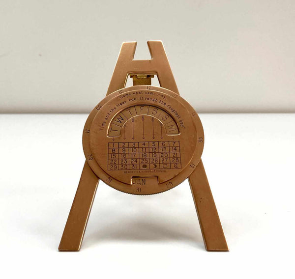 Desktop Perpetual Calendar by Negretti & Zambra London