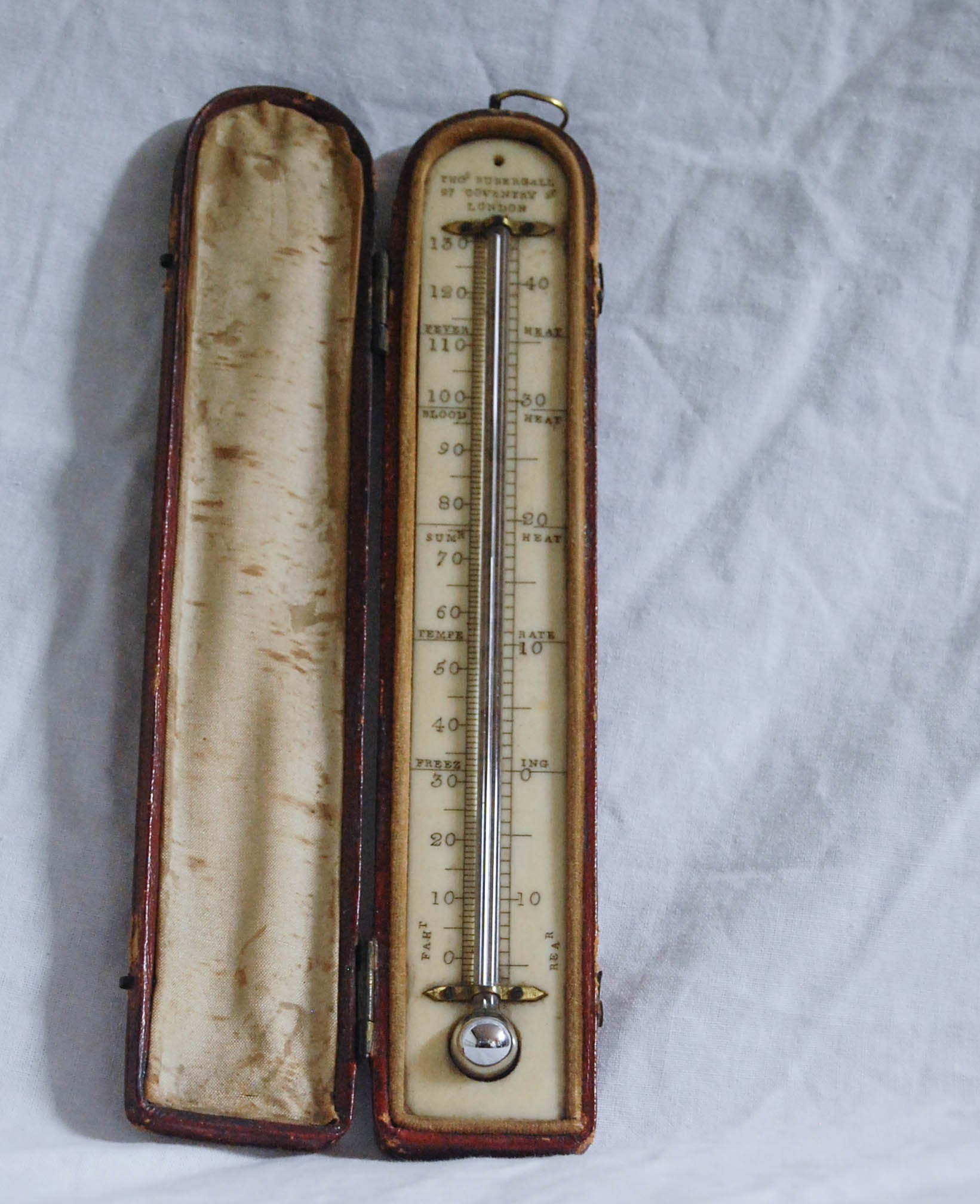 first mercury thermometer - photo #10