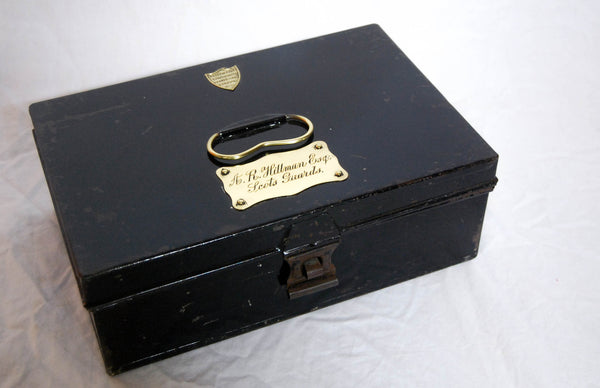 Edwardian Scots Guards Military Dress Box by Edward Smith of Savile Row, London