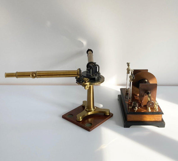 Rare Mid Victorian Spectroscope Set by John Browning of London