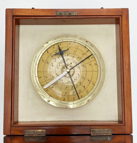 Early Twentieth Century Cased Barocyclonometer or Typhoon Barometer