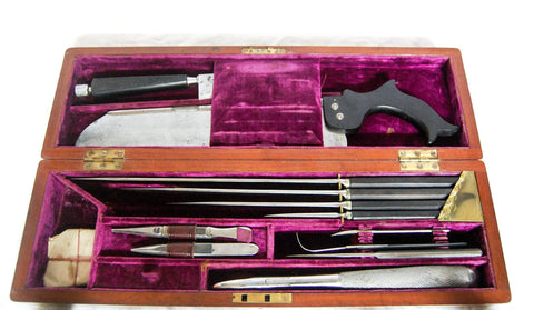Early Nineteenth Century Victorian Surgeons Amputation Set by J. Gardner of Edinburgh
