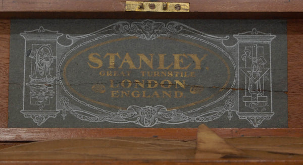 Edwardian Set of Draughtsman's Railway Curves by WF Stanley London