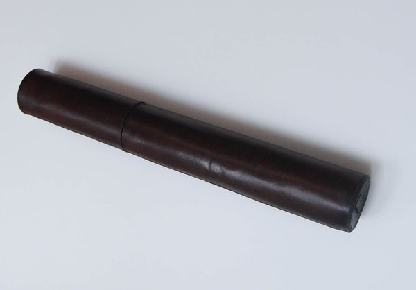 Single Draw Marine Day or Night Telescope by Dollond of London with Original Leather Case