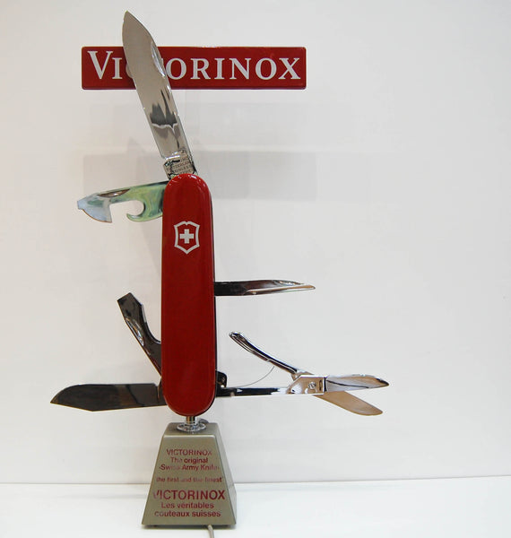 Rare Swiss Army Knife Electric Retail Display Automaton by Victorinox