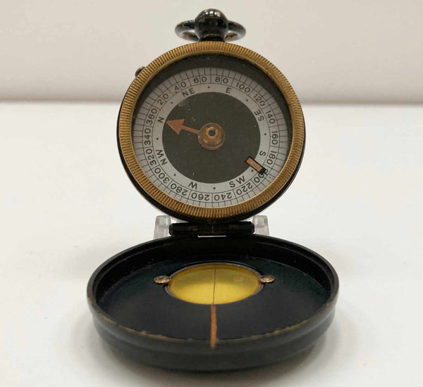 WW1 Verners Prismatic Compass to Captain AM Boyle Kings Own Scottish Borderers