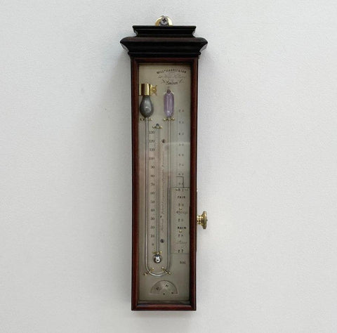 Patent Compensating Portable Barometer by William Harris London